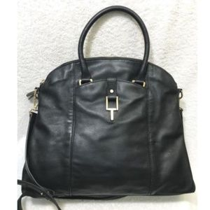 T Tahari (Extra Large) Rich Leather Satchel